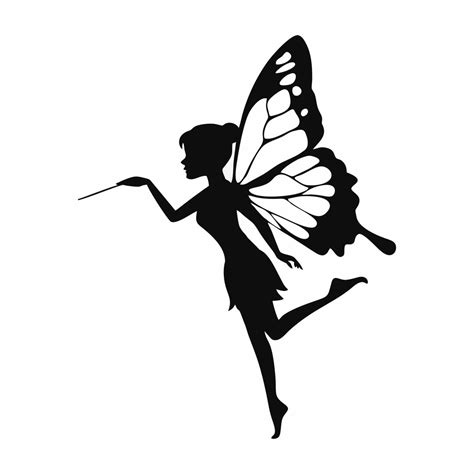 images  printable fairy silhouette  fairy