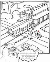 Drawing Highway Railroad Train Safety Sketch Roadway Getdrawings Coloring Track Tracks Safe Clipart Drawings Sketches Paintingvalley sketch template