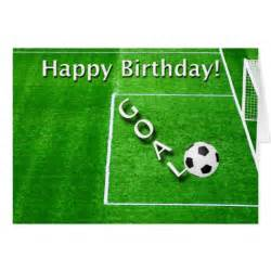 Happy Birthday Card Soccer Player