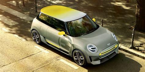 bmw minivan concept bmw reveals electric mini concept frankfurt motor show