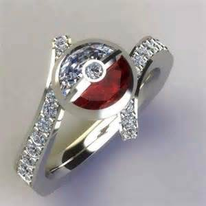the best pokeball engagement ring pokeballs for sale - Pokeball Engagement Ring