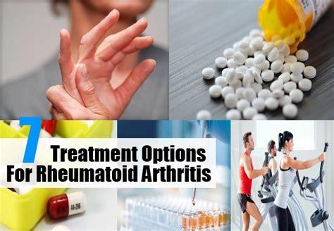 7 Treatment Options For Rheumatoid Arthritis