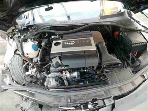 how do cars engines work 2009 audi tt navigation system 2009 audi tt mk2 8j 2 0 tfsi coupe breaking engine bwa tailgate car for sale