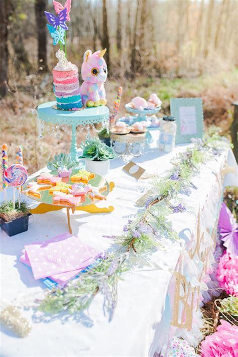 kara 39 s party ideas magical unicorns fairies rainbows