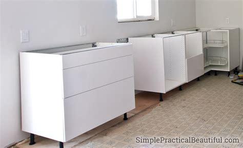 installing ikea sektion cabinets how to assemble an ikea sektion base cabinet simple
