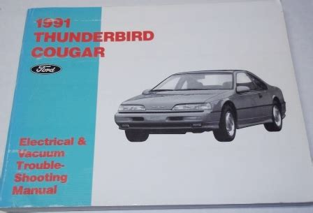 electric and cars manual 1983 ford thunderbird regenerative braking 1958 to 1988 ford thunderbird automotive manuals