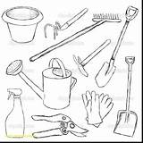 Tools Coloring Gardening Drawing Tool Utensils Sketch Manny Handy Cooking Printable Belt Sheets Kitchen Sketches Additional Getdrawings Getcolorings Drawn Happy sketch template