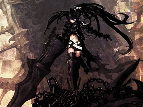 Black Rock Shooter Anime Wallpaper - black rock shooter wallpaper and background image