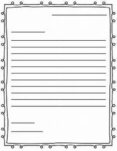 friendly letter writing template 1st grade words