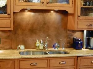 Copper Backsplashes - Brooks Custom