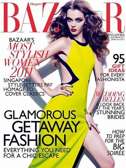 Masha Tyelna Bazaar Issue Fashiongonerogue Harper Gan