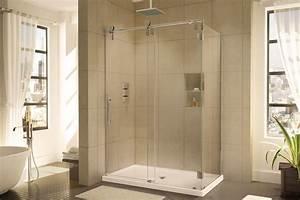 douches plomberie tetreault With porte de douche coulissante avec reglette murale salle de bain