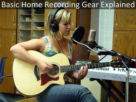 Guide To A Basic Home Recording Setup (guitarsite