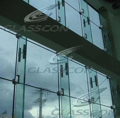 curtain wall fins decorate the house with beautiful curtains