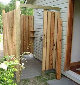 outdoor showers the tiny life With fantastic ideas for outdoor shower enclosure in garden
