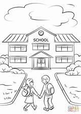 Coloring Pages Boy Going Printable Drawing Para Dibujos Colorear Simple Drawings Escuelas Education Preschool Colouring Printables Getdrawings Science Building Pre sketch template
