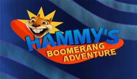 hammys boomerang adventure dreamworks animation wiki