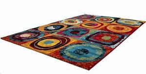 tapis design pour salon multicolore sweet pas cher With tapis pas cher soldes