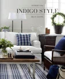 ethan allen home interiors indigo blue living