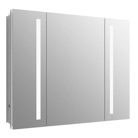 medicine cabinet with outlet shop kohler verdera 40 in x 30 in rectangle recessed