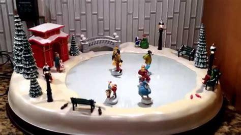 christmas holiday skaters winter skating pond musical