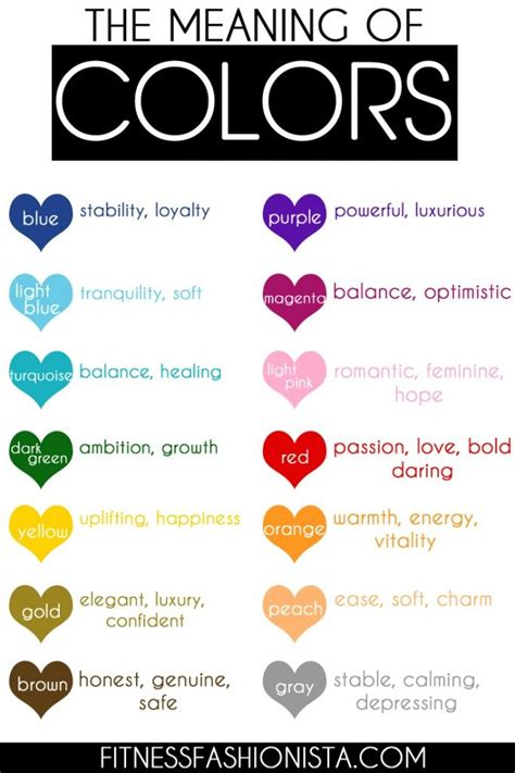 color and what it means you wondered what colors meant now you can
