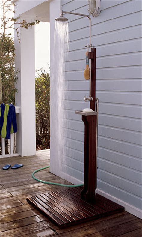 Outdoor Shower Company - outdoor shower style by the orvis company