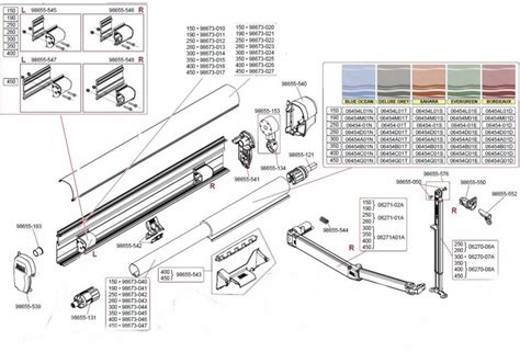 Fiamma F45s Awning Spare Parts