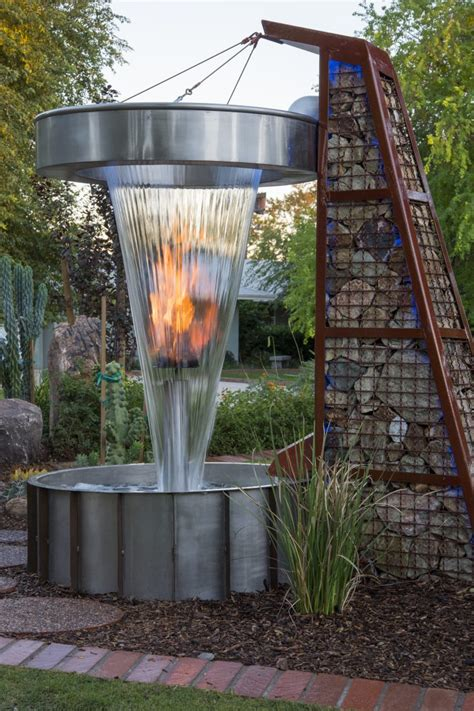 fire pits phoenix outdoor kitchens az water fountains