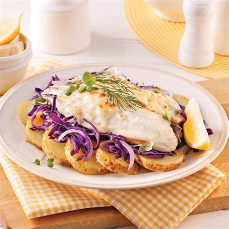 cuisine au four poisson tout en un au four soupers de semaine recettes