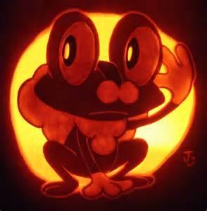 Easy Avengers Pumpkin Stencil by Water Type Froakie Pumpkin By Johwee On Deviantart