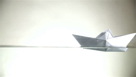 Origami Boat Definition by Paper Boat Stock Footage 4k And Hd