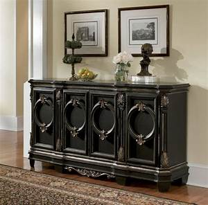 Black Buffet Table Design — New Decoration : Decorate a