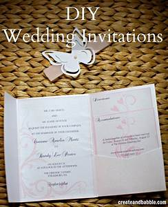 diy wedding invitations silhouette tutorial create and With handmade wedding invitations facebook