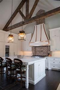 30, Super, Practical, And, Really, Stylish, Brick, Kitchen, Backsplashes