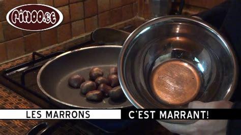 comment cuire des marrons