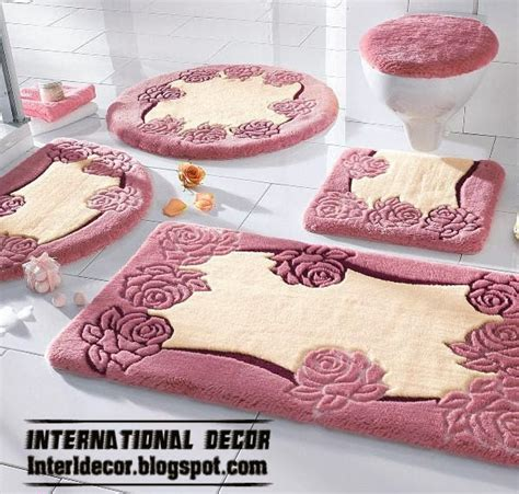 Pink Bathroom Rug Set by Models Of Bathroom Rugs And Rug Sets