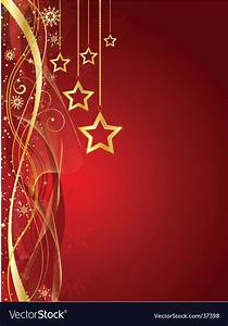 Christmas star background Royalty Free Vector Image