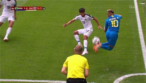 neymar leaves defender  dead  silky rainbow flick