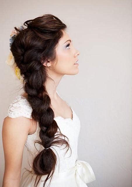 pretty long braid long hairstyles how to