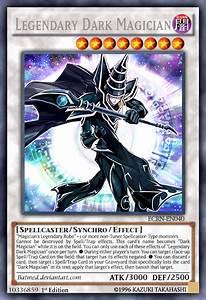 Legendary Dark Magician by BatMed on DeviantArt