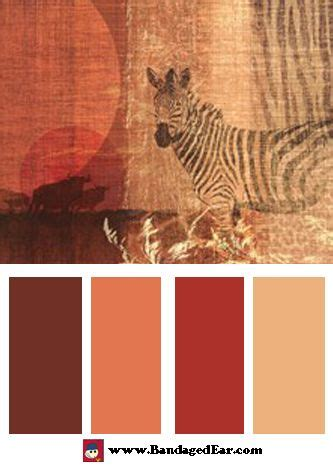 safari color palettes bandagedearcom blog colors