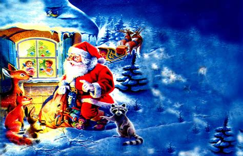 Santa Claus Animated Wallpaper - santa claus hd wallpapers for free
