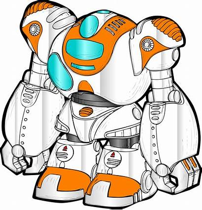 Robot Clipart Technology Drawing Transparent Zora Android