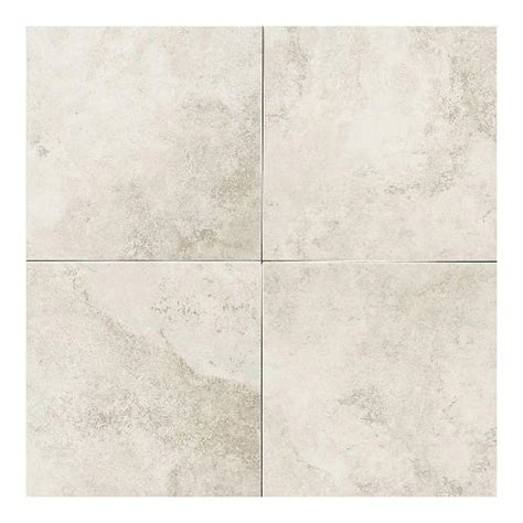 ceramic floor tile daltile salerno grigio perla 18 in x 18 in glazed ceramic floor and wall tile 18 sq ft