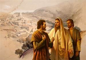 Jesus and his disciples - Jesus Christ, the Lord ...