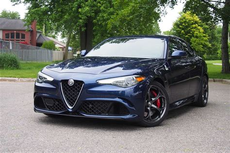 2017 Alfa Romeo Giulia Quadrifoglio Review Autoguidecom