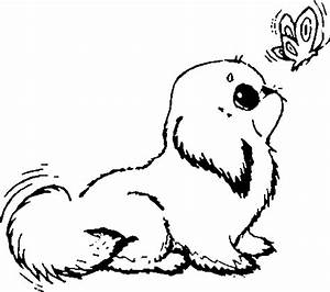 Baby Dog Coloring Pages - vitlt.com