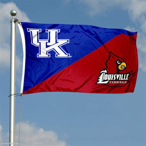 Flags Kentucky vs Louisville House Divided 3x5 Flag and ...