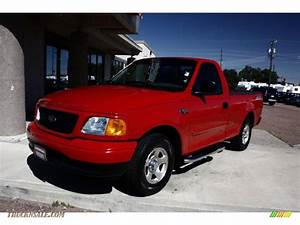2004 Ford F150 Stx Heritage Regular Cab In Bright Red